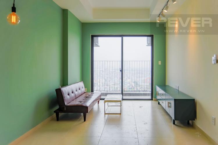 Phòng Khách Căn hộ M-One Nam Sài Gòn 2 phòng ngủ tầng trung T1 view sông