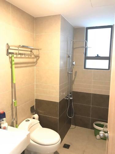 Nhà vệ sinh officetel The Sun Avenue Cho thuê officetel The Sun Avenue tầng thấp, block 7, diện tích 41.4m2 - 1 phòng ngủ, đầy đủ nội thất