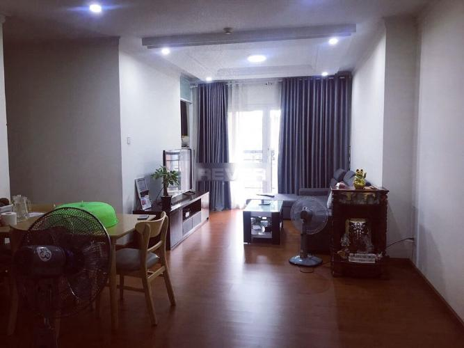 Căn hộ chung cư Phúc Yên bàn giao nội thất cơ bản, view thoáng mát.
