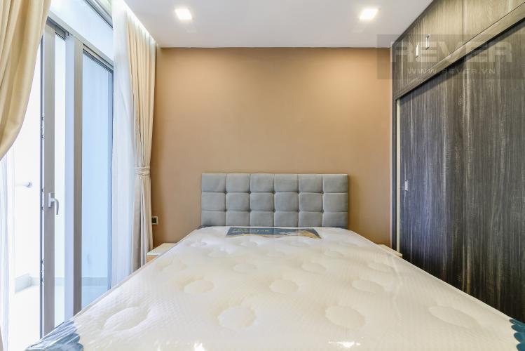 Phòng Ngủ Căn hộ Vinhomes Central Park 1 phòng ngủ tầng cao P7 view sông