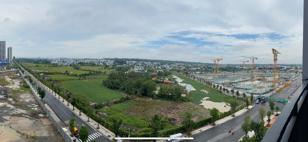 View từ  Vinhomes Grand Park Căn hộ Vinhomes Grand Park đầy đủ nội thất, view thành phố.