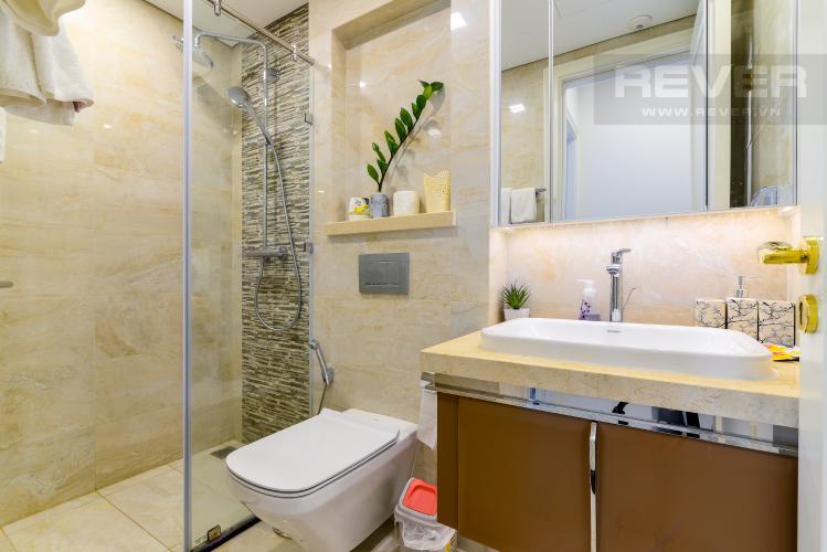 Phòng Tắm Bán căn hộ Vinhomes Golden River 1PN tầng cao, đầy đủ nội thất, view sông thoáng mát