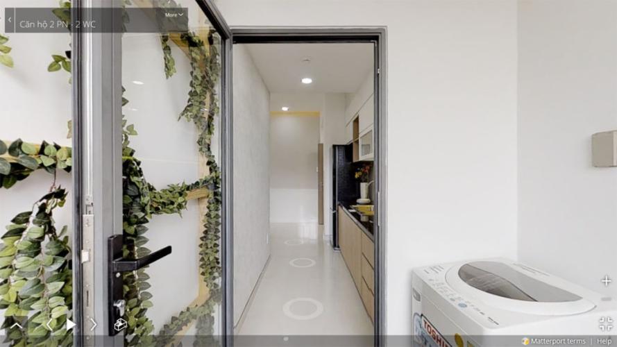 Bên trong căn hộ Picity Bán căn hộ Picity High Park tầng trung, 2 phòng ngủ, diện tích 57.6m2, nội thất cơ bản