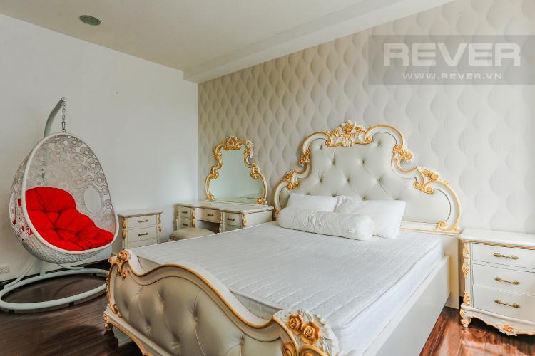 Phòng Ngủ 1 Căn hộ Sunrise City tầng thấp, tháp V6, 3 phòng ngủ, full nội thất