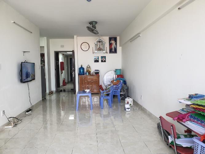 Phòng khách căn hộ chung cư An Hội 3, Gò Vấp Căn hộ chung cư An Hội 3 bàn giao nội thất cơ bản, hướng Tây Nam.