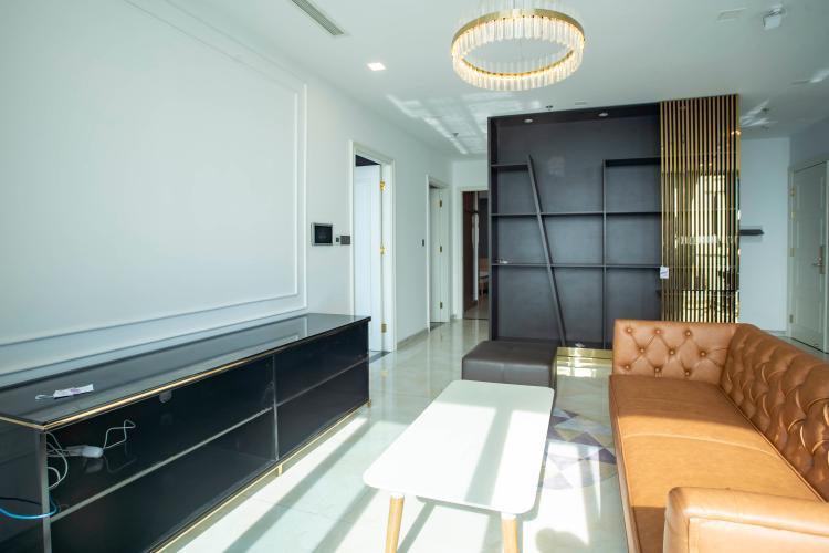 Phòng khách Vinhomes Golden River, Quận 1 Căn hộ tầng cao Vinhomes Golden River đầy đủ nội thất.