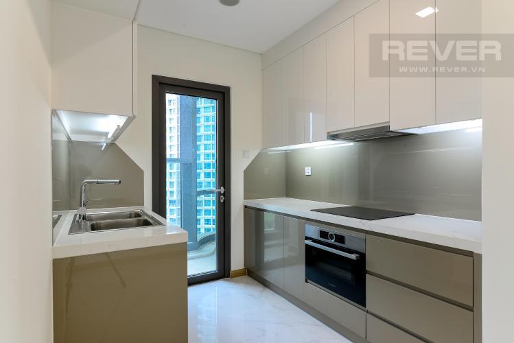 Nhà Bếp Bán hoặc cho thuê căn hộ Vinhomes Central Park 3PN, tháp Landmark 81, view sông và công viên