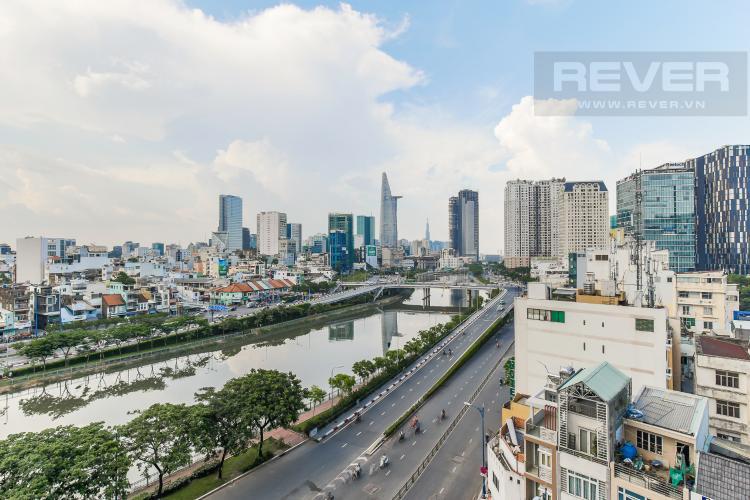 View Cho thuê căn hộ Masteri Millennium 3PN, diện tích 107m2, đầy đủ nội thất, view Bitexco