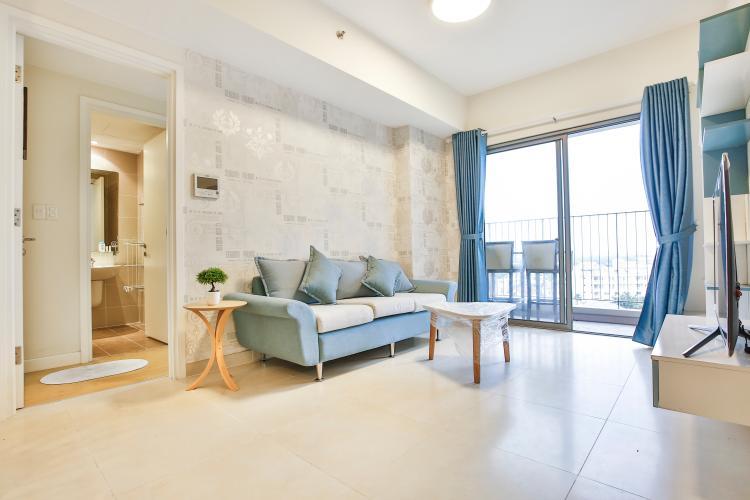 Phòng Khách Căn hộ Masteri Thảo Điền tầng thấp T2 view thoáng về khu Thảo Điền