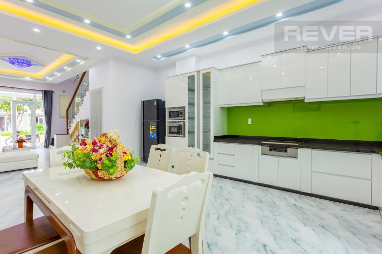 Bàn ăn Nhà phố khu compound Mega Khang Điền Quận 9 nội thất đầy đủ