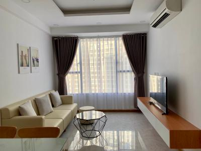 Cho thuê căn hộ Rivergate Residence 2PN, tháp A, diện tích 73m2, đầy đủ nội thất, view kênh Bến Nghé và Quận 1