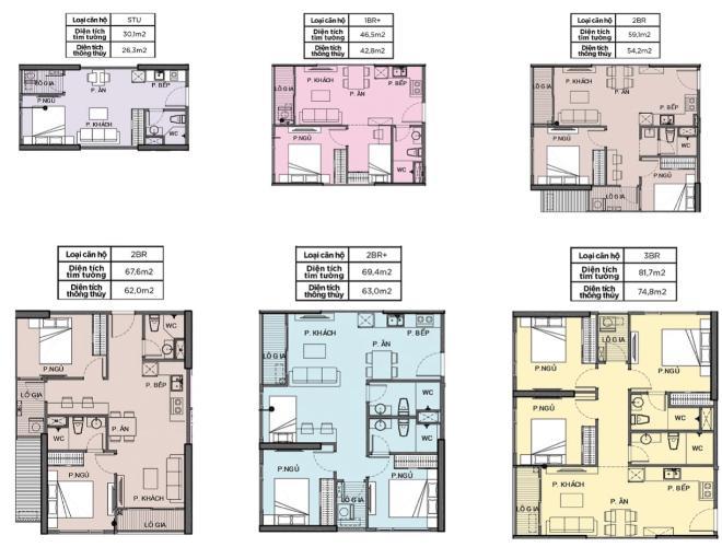Bản vẽ văn hộ Vinhomes Grand Park Căn hộ 3 phòng ngủ Vinhomes Grand Park, thiết kế sang trọng, vị trí cực đẹp.