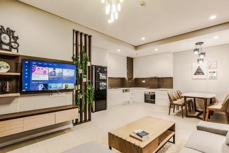 Cho thuê căn hộ Diamond Island - Đảo Kim Cương 1PN, đầy đủ nội thất, view sông Sài Gòn và Landmark 81