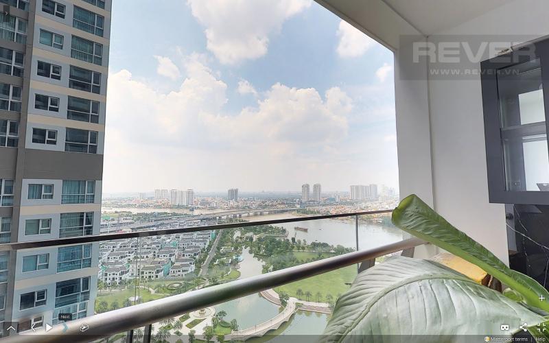 View Bán căn hộ Vinhomes Central Park tầng cao tháp Park 3, 3PN 2WC, đầy đủ nội thất, view sông Sài Gòn