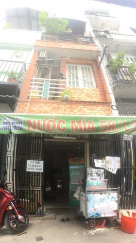 Bán nhà đường hẻm ô tô Trần Xuân Soạn, sổ hồng đầy đủ, diện tích đất 23.82m2.