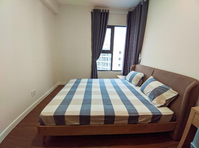 Phòng ngủ lớn căn 2PN Safira Cho thuê căn hộ Safira Khang Điền đầy đủ nội thất, view nội khu.