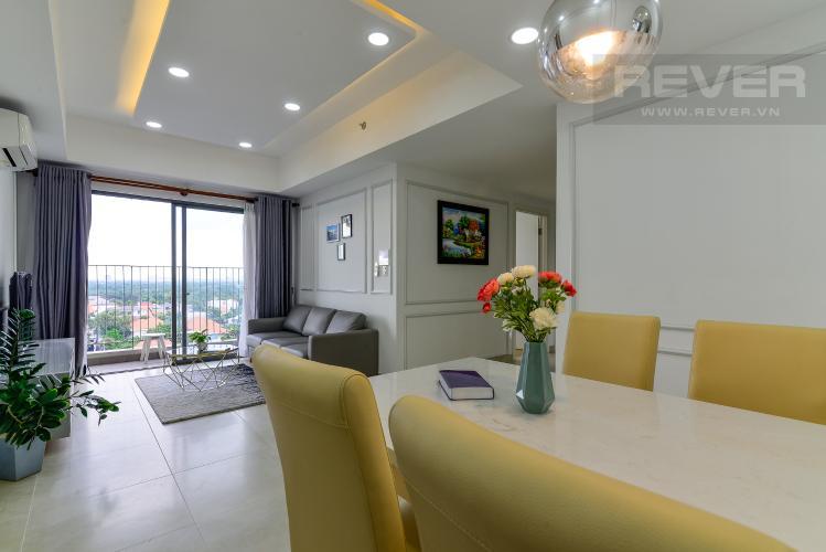 Phòng Khách Bán căn hộ Masteri Thảo Điền 3PN, tháp T4, diện tích 93m2, đầy đủ nội thất