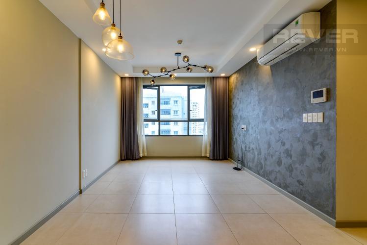 Phòng Khách Bán căn hộ The Gold View 1PN, tháp A, nội thất cơ bản, view kênh Bến Nghé