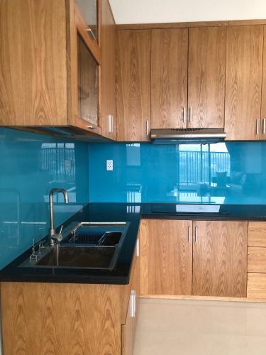 Phòng bếp Jamila Khang Điền, Quận 9 Căn hộ Jamila Khang Điền tầng trung, view thành phố náo nhiệt.