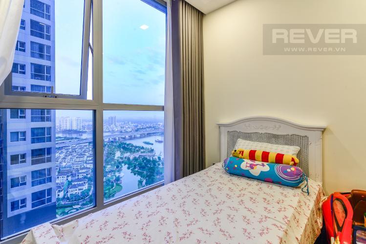 Phòng Ngủ 3 Căn hộ Vinhomes Central Park tầng cao 3PN view sông, nội thất hoàn chỉnh
