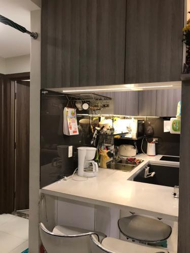 Phòng bếp , Căn hộ De Capella , Quận 2 Căn hộ tầng 8 chung cư De Capella view nội khu yên tĩnh, nội thất cơ bản.