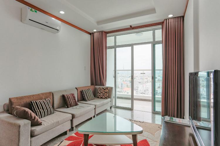 Căn hộ Hoàng Anh Thanh Bình tầng thấp, Block B, 2 phòng ngủ, đầy đủ nội thất