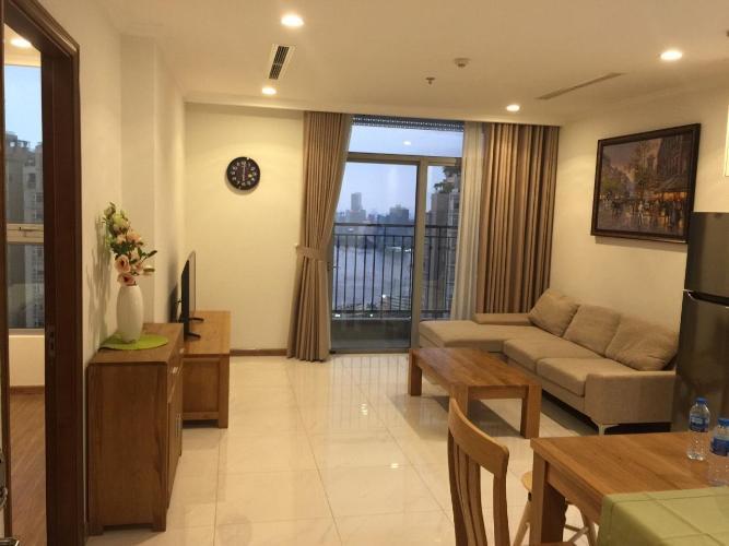 Bán căn hộ Vinhomes Central Park 1PN, tháp The Central 2, đầy đủ nội thất, view sông Sài Gòn
