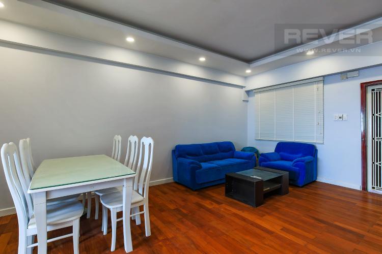 Phòng Khách Bán căn hộ Chung Cư H3 Hoàng Diệu tầng cao, 3PN, nội thất đầy đủ