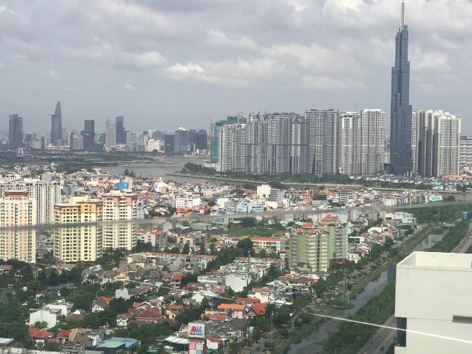 view cảnh từ penthouse Masteri An Phú Bán Penthouse Masteri An Phú, không gian thông thoáng, đẳng cấp.