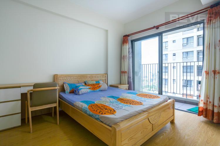 Phòng Ngủ 1 Căn hộ Masteri Thảo Điền tầng cao 2 phòng ngủ đầy đủ tiện nghi