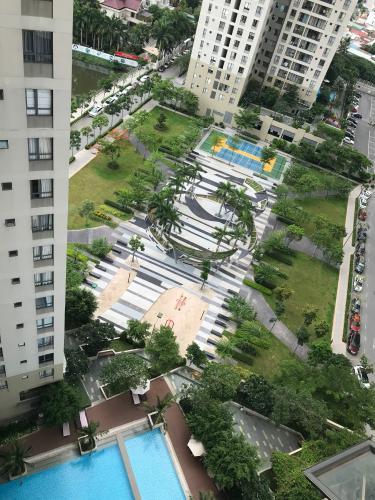 View căn hộ Masteri Thảo Điền , Quận 2 Căn hộ Masteri Thảo Điền nội thất đầy đủ sang trọng, tầng 19