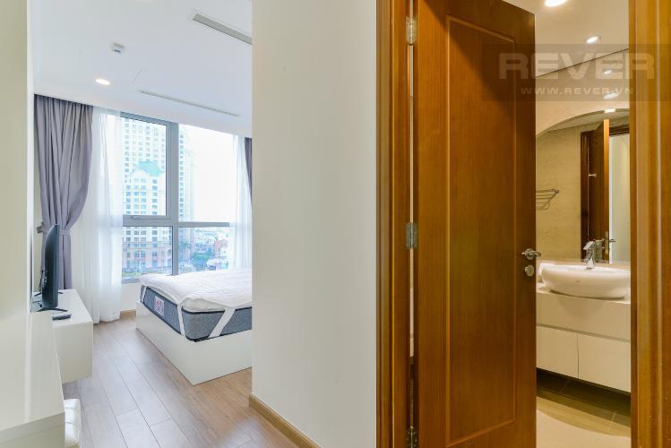 Phòng Ngủ 1 Bán căn hộ Vinhomes Central Park tầng cao, 2PN, đầy đủ nội thất