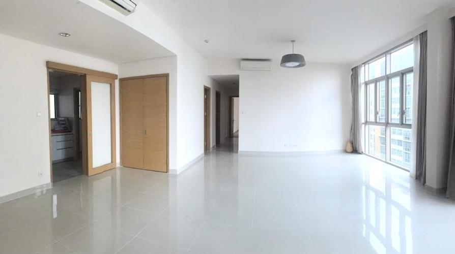 Cho thuê căn hộ The Vista An Phú 4PN, tháp T5, nội thất cơ bản, view hồ bơi