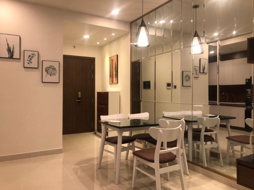 558ea3c65f3db863e12c Cho thuê căn hộ Saigon Royal 2PN, tầng 21, tháp A, diện tích 80m2, đầy đủ nội thất, hướng Đông Bắc
