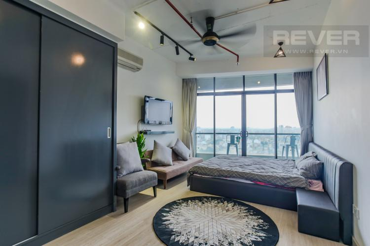 Phòng Ngủ 2 Bán căn hộ City Garden 2 phòng ngủ diện tích lớn, đầy đủ nội thất, view Landmark 81
