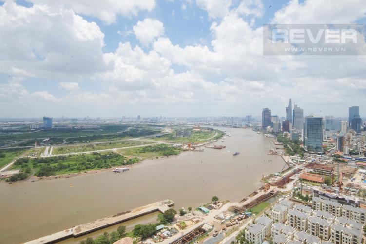 View Bán hoặc cho thuê căn hộ Vinhomes Golden River 3PN, tầng trung, đầy đủ nội thất, view sông Sài Gòn và Bitexco