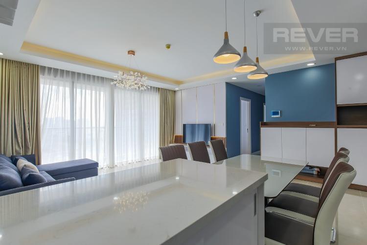 Phòng Bếp Bán căn hộ Masteri Millennium tầng cao, block B, 3PN đầy đủ nội thất