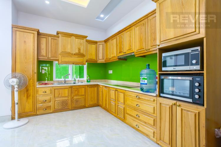 Khu Vực Bếp Căn hộ 15 Mega Ruby,diện tích 100m2, 4 phòng ngủ, full nội thất