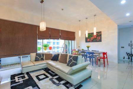 Căn hộ The Estella 2 phòng ngủ tầng trung tháp 4A thiết kế đẹp, trẻ trung
