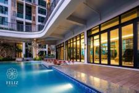 Cho thuê căn hộ Feliz en Vista tầng thấp, diện tích 102.58m2 - 2 phòng ngủ