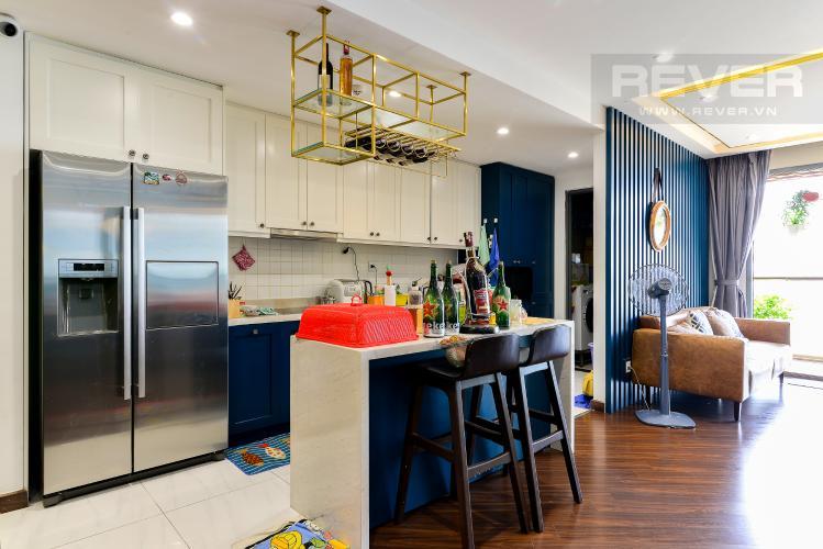 Bếp Bán căn hộ The Gold View 3PN, tầng thấp, diện tích 117m2, đầy đủ nội thất