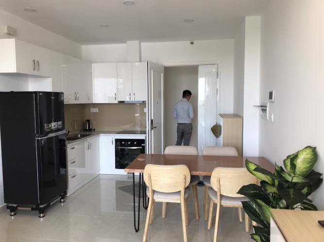 Phòng ăn và bếp căn hộ Saigon Mia Bán hoặc cho thuê căn hộ Saigon Mia 2PN, tầng 17, diện tích 55m2, đầy đủ nội thất