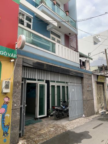 Mặt tiền nhà phố Nhà phố đường Nguyễn Tư Giản hướng Đông Nam, hẻm 5m thoáng rộng