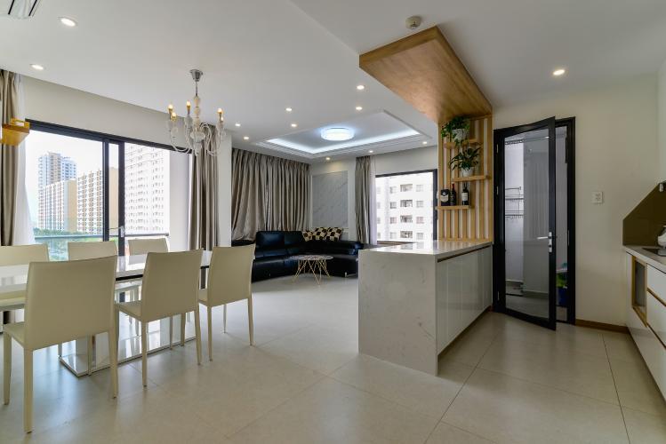 Cho thuê căn hộ New City Thủ Thiêm tầng thấp tháp Babylon, 3PN 2WC, đầy đủ nội thất, view cây xanh mát mẻ