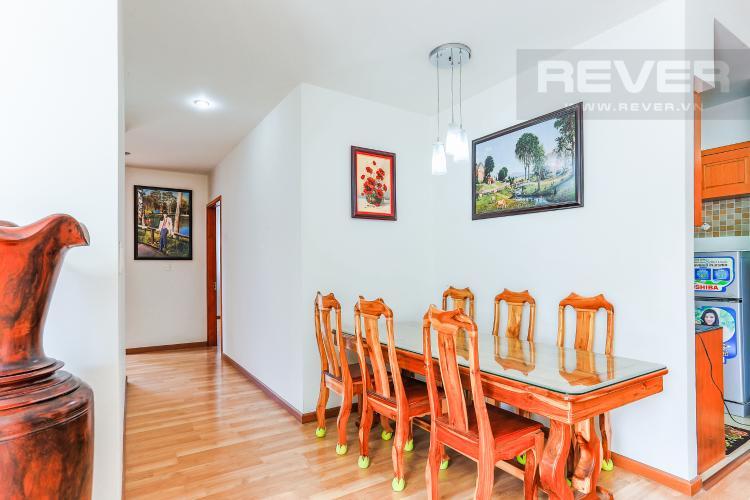 Phòng Ăn Cho thuê căn hộ V-Star Quận 7 3PN, nội thất cơ bản