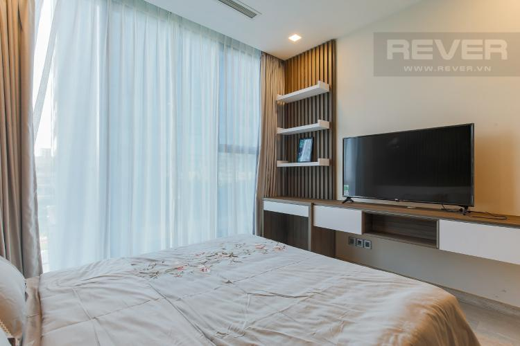 Phòng Ngủ 1 Căn hộ Vinhomes Golden River tầng tháp, 2PN đầy đủ nội thất