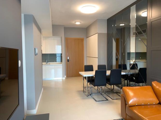 Phòng khách căn hộ Gateway Thảo Điền Căn hộ Gateway Thảo Điền tầng cao, view thành phố thoáng mát.