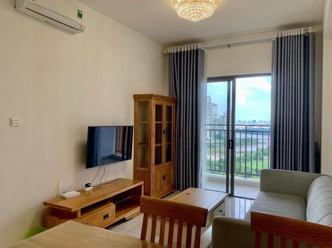 phòng khách Căn hộ The Sun Avenue Cho thuê căn hộ nội thất đầy đủ, view thành phố The Sun Avenue