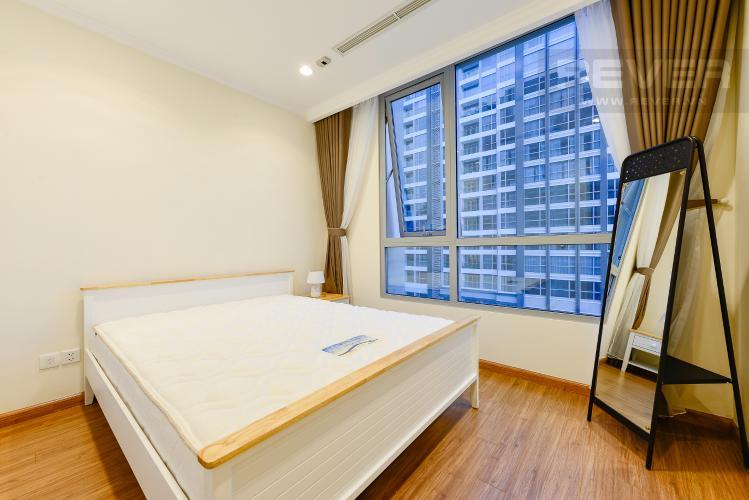 phòng ngủ 2 Căn góc Vinhomes Central Park tầng cao C1 view trực diện sông