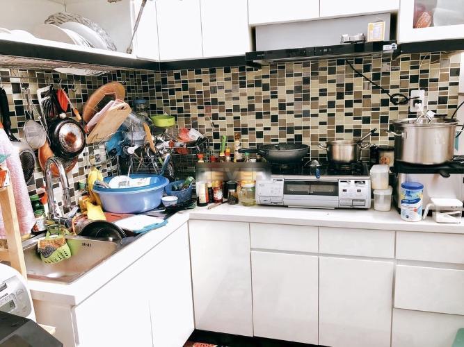 Phòng bếp nhà phố Trần Khắc Chân, Quận 1 Nhà phố hẻm Quận 1, hẻm xe ba gác, nội thất cơ bản.
